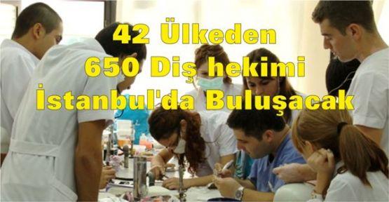 Dünyaca ünlü diş hekimleri İstanbul'da