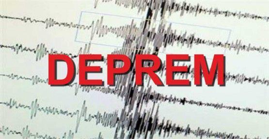 Ege Denizi'nde 4,9 büyüklüğünde deprem