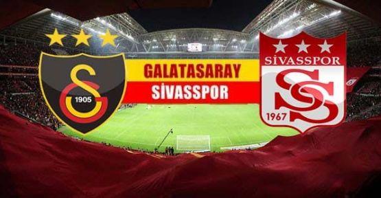 G.Saray Sivasspor ilk 11''eri