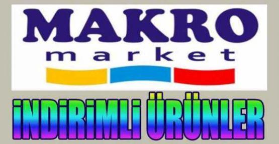 Makro Market 9 - 15 Ağustos 2014 İndirimli Ürünleri