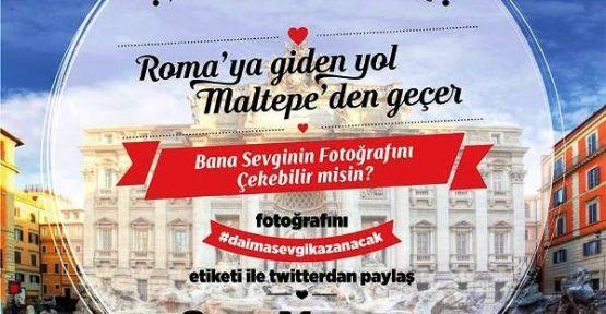 """Maltepe Belediyesi """"Sevgililer Günü""""nde Roma'ya gönderecek"""
