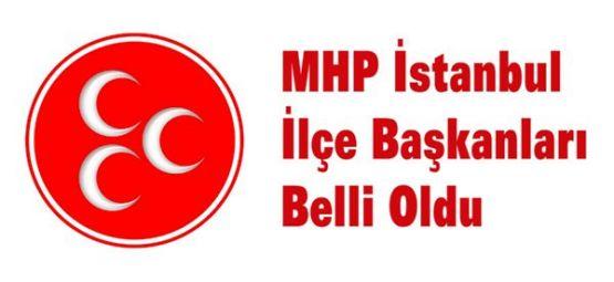MHP İstanbul'da Yeni İlçe Başkanları Belli Oldu