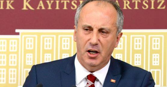 Muharrem İnce'den istifa açıklaması