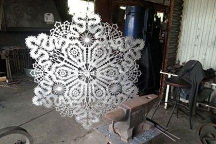 Paslanmaz çelikten peçete üretildi
