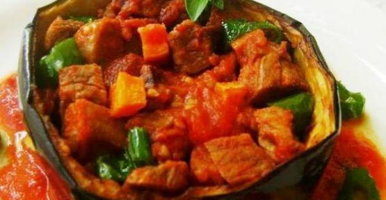 Saksı Kebabı, Patlıcan Kebabı