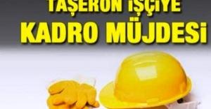 1.5 milyon işçiye kadro müjdesi
