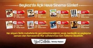 Beykoz'da Açıkhava Sinema Günleri