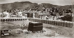 100 yıllık Kabe fotoğrafları İstanbul'da