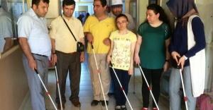 Çankırı'da Görme engelliler Hareket Kursu Açıldı