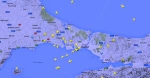 İstanbul Uçuş Trafiği Canlı İzle