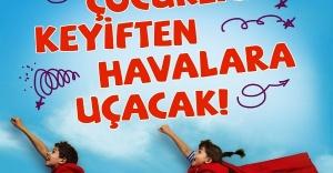 Palladium Ataşehir AVM'de Çocuklar Keyiften Havalara Uçacak