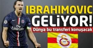 İbrahimovic 6 Ağustos#039;ta İstanbul#039;a...