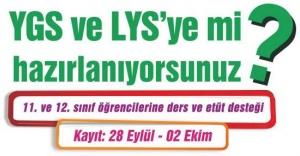 Ataşehir Belediyesi'nden öğrencilere YGS VE LYS desteği