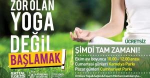 Ataşehir'de Yoga eğitimi başlıyor