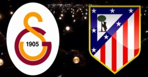 Galatasaray-Atletico Madrid maçı...