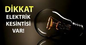 İstanbu Anadolu Yakasın'da 8 Eylül'de elektrikler kesilecek!