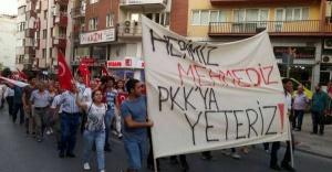 İstanbulda Terörü Protesto Eylemleri