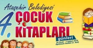 """Ataşehir """"4. Çocuk Kitapları Günleri"""" başlıyor"""