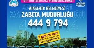 Ataşehir Belediyesi Zabıta Müdürlüğü