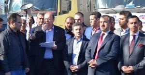 Ataşehir'den  Bayırbucak Türkmenlerine yardım