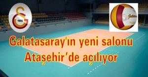 Galatasaray'ın yeni salonu Ataşehir'de açılıyor