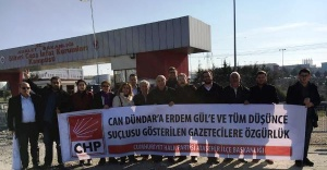 Umut Nöbetini CHP Ataşehir İlçe Örgütü Tuttu