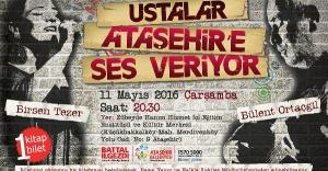 Bülent Ortaçgil ve Birsen Tezer Ataşehir'e Ses Veriyor