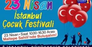 İBB, ÇOCUK FESTİVALİ İLE 23 NİSAN'I KUTLUYOR