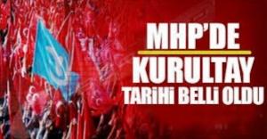 MHP'de Kurultay tarihinde anlaştılar!