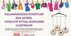 Ataşehir#039;de Toplanan giyecekler...