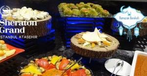 Sheraton Grand İstanbul Ataşehir'den iftara özel lezzetler
