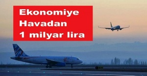 """Ekonomiye """"havadan"""" 1 milyar lira"""