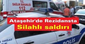 Ataşehir#039;de rezidansta silahlı...