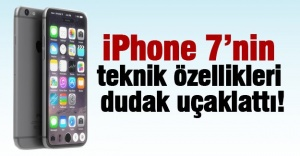 İŞTE İPHONE 7 VE İPHONE 7 PLUS ÖZELLİKLERİ