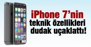 İŞTE İPHONE 7 VE İPHONE 7 PLUS ÖZELLİKLERİ