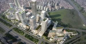 Ataşehir'de SPK ve BDDK binalarının temeli atılıyor