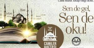 Camiler ve Din Görevlileri Haftası başladı