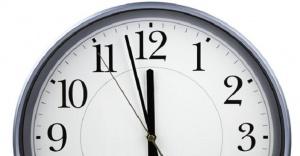Pazar günü saatlere dikkat!