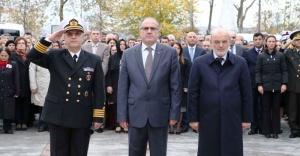 Gazi Mustafa Kemal Atatürk Rahmet ve Minnetle Anıldı