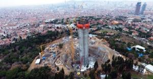 Çamlıca TV-Radyo Kulesi' Eyfel'den yüksek olacak