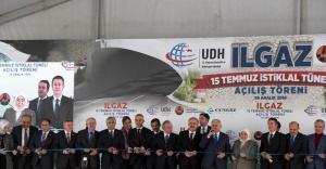 Ilgaz 15 Temmuz İstiklal Tüneli'nin Açılış Töreni Gerçekleştirildi