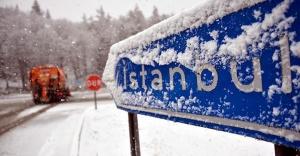 İstanbul'a yağan kar tekrar geri geliyor.