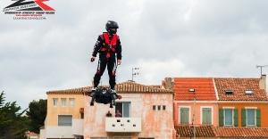 Uçan adam Zapata, Türkiye İnovasyon Haftası'nda