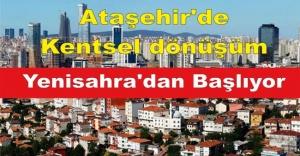 Ataşehir#039;de kentsel dönüşüm...