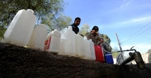 Suriye Şam'da su krizi büyüyor