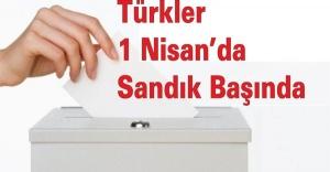 ABD'de Türkler 1 Nisan'da Sandık Başında