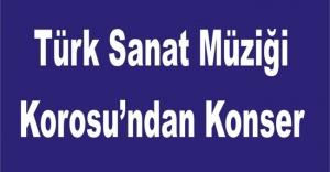 Türk Sanat Müziği Korosu'ndan Konser