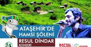 Ataşehir#039;de Hamsi Şöleni