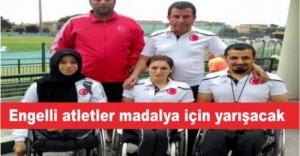 Engelliler Sporcular madalya için yarışacak