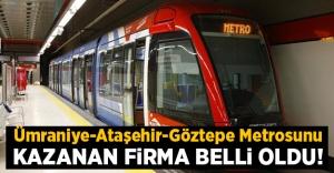 Göztepe-Ataşehir-Ümraniye Metrosu...